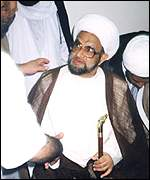 [ image: Sheikh Abdel Amir al-Jamri was freed by the new leader of Bahrain]