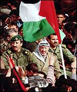 [ image: Who will succeed Yasser Arafat?]