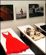 [ image: The collection includes many more of Monroe's clothes]
