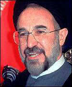 [ image: President Khatami: National security cannot be toyed with]