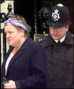 [ image: Mo Mowlam: Widely but wrongly tipped as on her way out the door from the Northern Ireland Office]