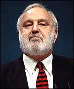 [ image: Frank Dobson: Denied he was pressured to run against Mr Livingstone]