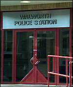 [ image: Richard O'Brien died at Walworth police station]