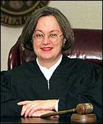 [ image: This is not the first attack Judge Webber Wright has launched against the president]