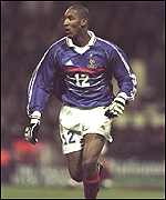 [ image: Anelka stunned England with a two-goal display for France last February]
