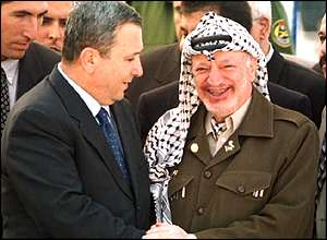 Arafat and Barak