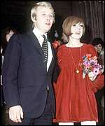 Wedding: Cilla and Bobby big day in 1969