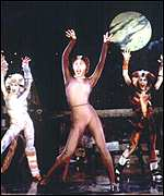 [ image: Andew Lloyd Webber's Cats: One of musicals that draws visitors from abroad]
