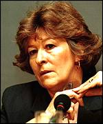 [ image: Louise Arbour, chief prosecutor in the Hague, is expected to put Kovac on trial]