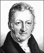 [ image: Malthus believed that disease and famine would limit humanity's growth]