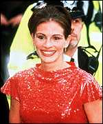 julia roberts at notting hill premier