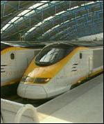 [ image: A Eurostar train will have a fantasy make-over]