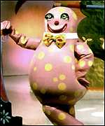 [ image: Mr Blobby: TV chaos]