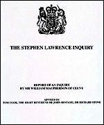 [ image: The Lawrence report queried the practice of stop and search]