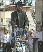 [ image: Orthodox Jews follow a strict dress code]
