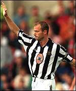 [ image: Shearer's early strike was wasted in dramatic fashion]