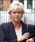 [ image: BBC Wimbledon presenter Sue Barker was among the mourners]