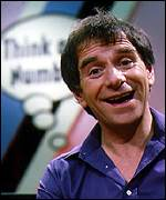 [ image: Proud father: Johnny Ball in his Think of A Number days]