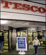 [ image: It's business as usual at Tesco]