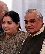 [ image: Vajpayee and Jayalalitha in happier times]
