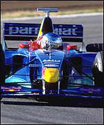 [ image: Jean Alesi: Ready to join Prost]