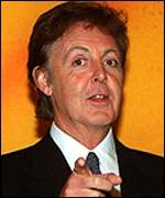 Sir Paul McCartney:
