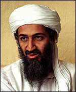 [ image: Osama bin Laden: Alleged sponsor of Islamic militancy]
