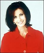 [ image: Courteney Cox perked up by poll vote]