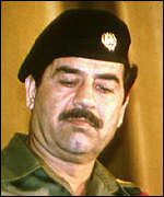 [ image: Saddam Hussein: Ready to welcome Pope]