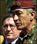 [ image: Mr Holbrook and General Sir Mike Jackson]