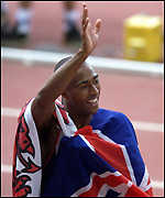 [ image: Colin Jackson: Flying the flag]