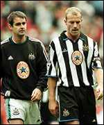 [ image: Newcastle Caretaker manager Steve Clarke and Alan Shearer know things have to change]