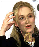 [ image: Meryl Streep: Stars in Wes Craven's first non-horror movie]