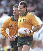 [ image: David Campese: A thorn in many a team's side]