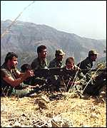 [ image: Turkish forces have been fighting the PKK for 15 years]