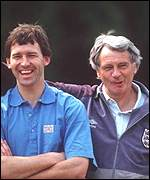 [ image: Robson appointed his namesake Bryan as his inspirational England captain]