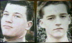 James Fisher (left) and Mark Wright: Reinstated in the Army