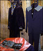 [ image: Elvis had a flare for picking stage costumes]