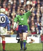 Referee, England vs France