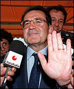[ image: Mr Prodi is expected to rebuff MEPs who are hostile to his nominees]