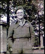 Secombe in uniform