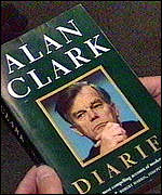 [ image: Clark's diaries proved irresistible reading]