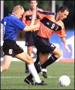 [ image: Johnston of Scotland holds off Estonia's Saviauk]