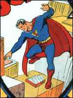 [ image: Superhero traditional-style: Superman]