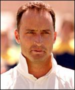 [ image: England captain Nasser Hussain, born in Madras]