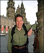 [ image: Michael Portillo on TV pilgrimage to Spain this year]