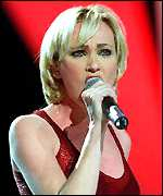 [ image: Singer Patricia Kaas: Would be proud to represent France]