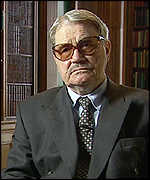 [ image: Vasili Mitrokhin is the former chief archivist from the KGB who revealed Mrs Norwood's past]