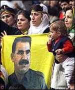[ image: Relations between the two countries were icy when Greece aided rebel leader Abdullah Ocalan]