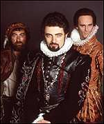 [ image: Blackadder II: ruff and tough in Tudor England]